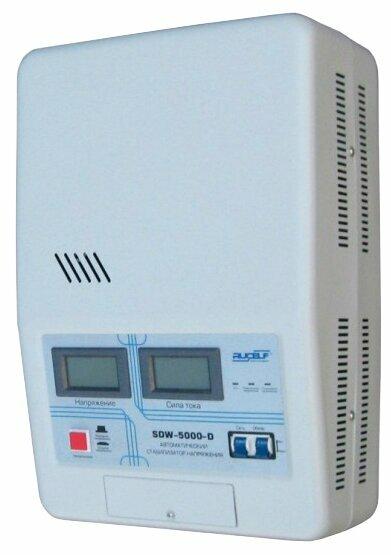 Стабилизатор напряжения однофазный RUCELF SDW-5000-D
