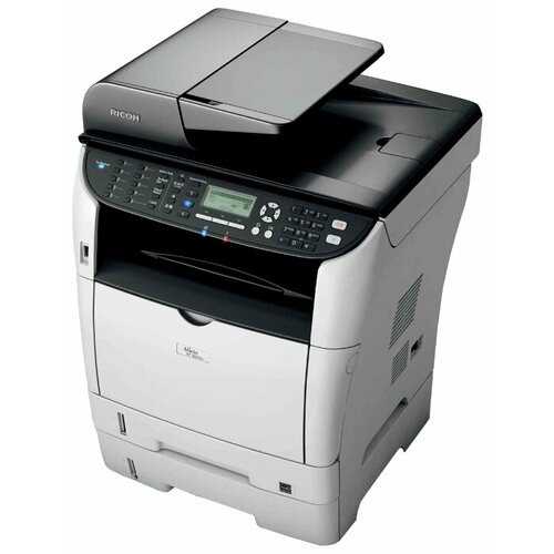 МФУ Ricoh Aficio SP 3510SF, белый/черный