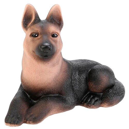 Купить Игрушка для ванной ОГОНЁК Собака Джери (С-673) коричневый, Игрушки для ванной