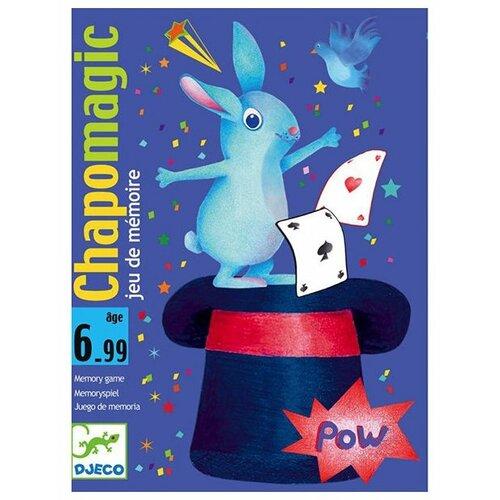 Настольная игра DJECO Карточная игра Шляпа волшебника