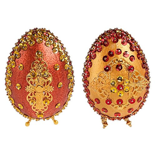 Купить Волшебная Мастерская Мозаика из пайеток 3D Декоративное яйцо ЯЦМ-03, Картины из пайеток