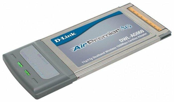 Wi-Fi адаптер D-link DWL-AG660