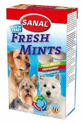 Лакомство для собак SANAL Fresh mints