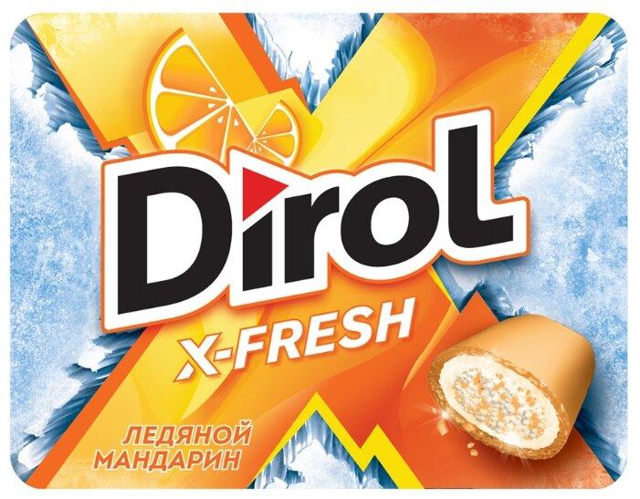 Жевательная резинка Dirol Cadbury X-fresh Ледяной мандарин, 16 г
