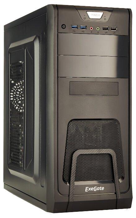 Компьютерный корпус ExeGate CP-603 500W Black