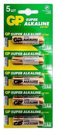 Батарейка GP Super Alkaline AA — купить по выгодной цене на Яндекс.Маркете