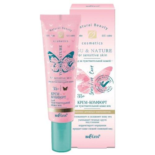 Купить Bielita Крем-комфорт для чувствительной кожи век You & Nature 20 мл