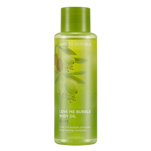 Масло для тела NATURE REPUBLIC Love Me Bubble Olive, 155 мл