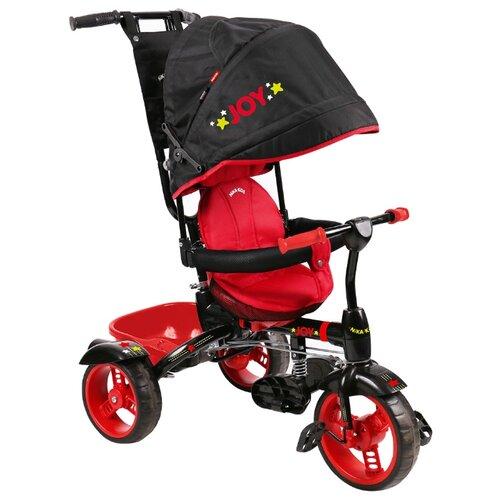 Трехколесный велосипед Nika ВД4 черный/красный