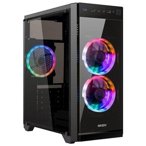 Компьютерный корпус Ginzzu E350 BlackКорпуса<br>