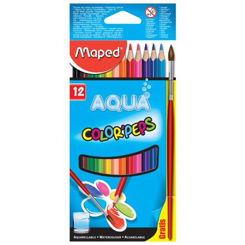 Купить Maped Цветные карандаши Color Peps Aqua 12 цветов (836011)