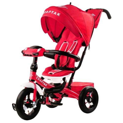 Купить Трехколесный велосипед СПАРТАК TF1SR белый/красный, Трехколесные велосипеды