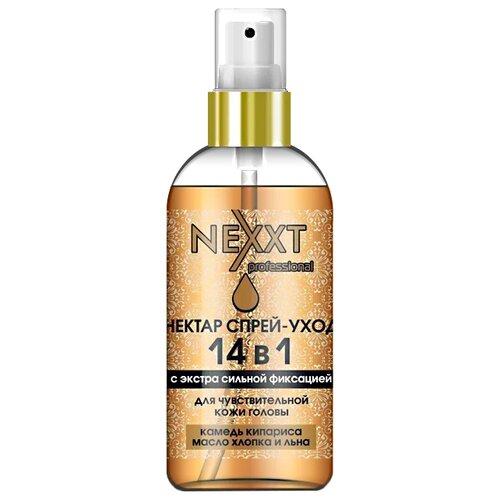NEXXT Спрей для укладки волос Нектар 14 в 1, экстрасильная фиксация, 120 мл