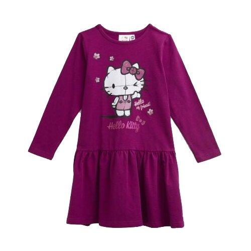 Платье playToday размер 122, фиолетовый/розовый/белыйПлатья и сарафаны<br>
