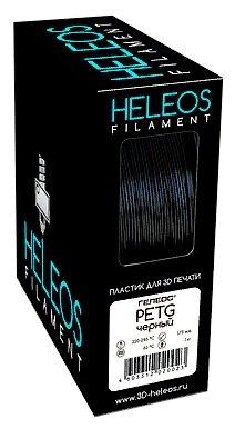 PETG пруток Heleos 1,75 мм черный