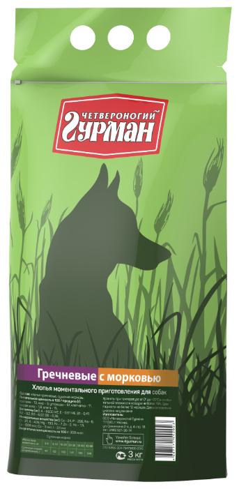 Корм для собак Четвероногий Гурман Гречневые хлопья 3 кг