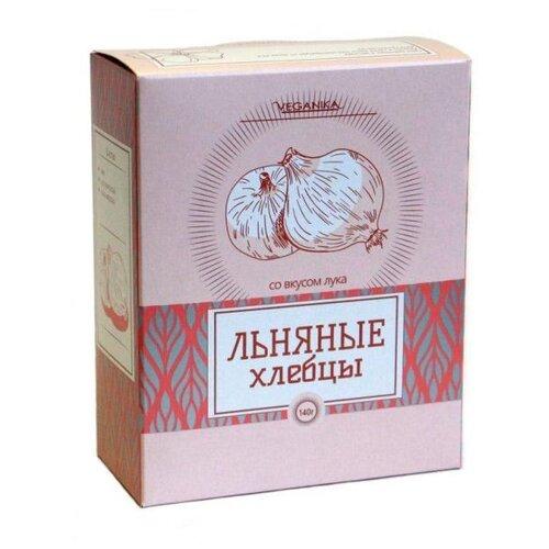 Хлебцы льняные VEGANIKA С луком 140 г