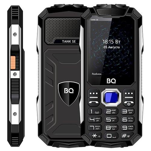 Телефон BQ 2432 Tank SE черный телефон