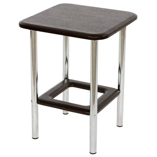 пластиковая мебель Табурет Калифорния мебель Тира металл венге