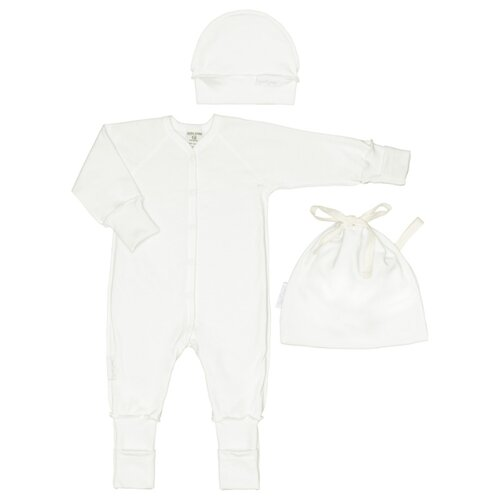 Комплект одежды lucky child размер 18 (56-62), молочный t shirts lucky child for girls 30 138 t shirt children clothes