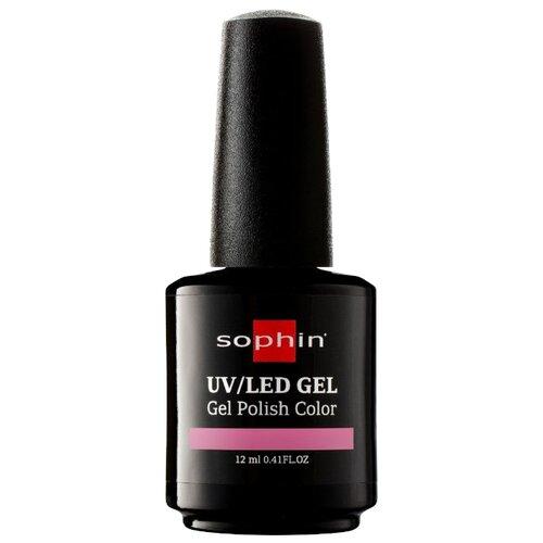 Гель-лак для ногтей Sophin Gel Polish, 12 мл, оттенок 0732 rose petal средство для укрепления ногтей с кальцием sophin calcium builder gel 12 мл