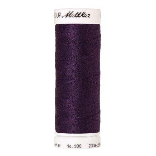 AMANN GROUP Mettler Нить универсальная Seralon 1678, 0578 Purple Twist 200 м