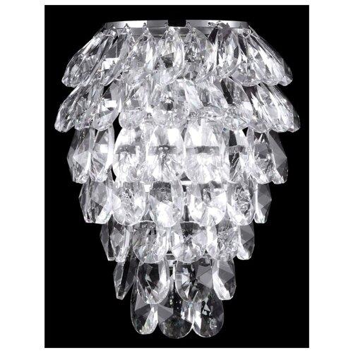 Настенный светильник Crystal Lux Charme AP2+2 LED Chrome/Transparent бра crystal lux solaris ap2 chrome