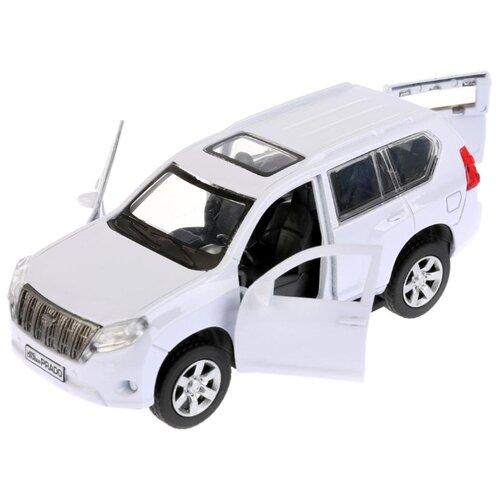 Внедорожник ТЕХНОПАРК Toyota Prado 12 см белый технопарк машинка технопарк металлическая toyota prado полиция