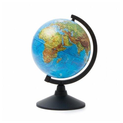 Глобус физический Globen Классик 210 мм (К012100007) черный