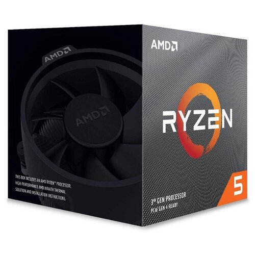 Процессор AMD Ryzen 5 3600X BOX процессор amd ryzen 5 1400 socketam4 box [yd1400bbaebox]