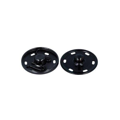 Фото - Gamma Кнопки пришивные (KL-250), под черный никель, 25 мм, 10 шт. gamma клипсы для подтяжек 2 см sus 20 никель 4 шт