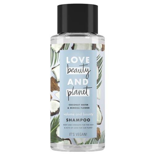 Love Beauty and Planet шампунь Volume & Bounty Объем и Щедрость, 400 мл love beauty and planet скраб для лица гладкость лепестков 115 мл