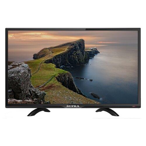 Телевизор SUPRA STV-LC24LT0060W 24 (2019) черный телевизор hitachi 24he1000r 24 2019 черный