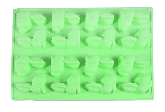 Форма для шоколада Fissman Зайцы, 16 ячеек