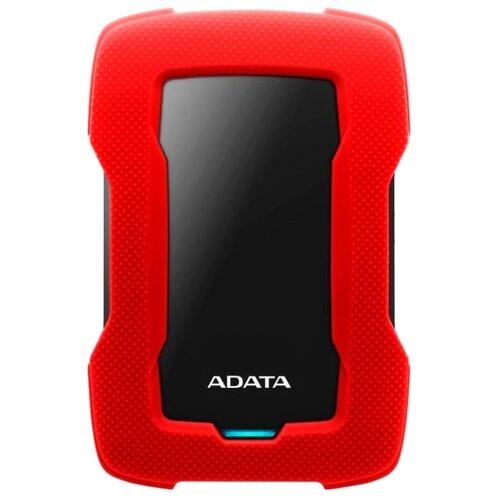 Фото - Внешний HDD ADATA HD330 1 ТБ красный внешний жесткий диск adata hd330 ahd330 5tu31 cbk 5tb