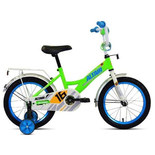 Детский велосипед ALTAIR Kids 16 (2020) зеленый/синий (требует финальной сборки)