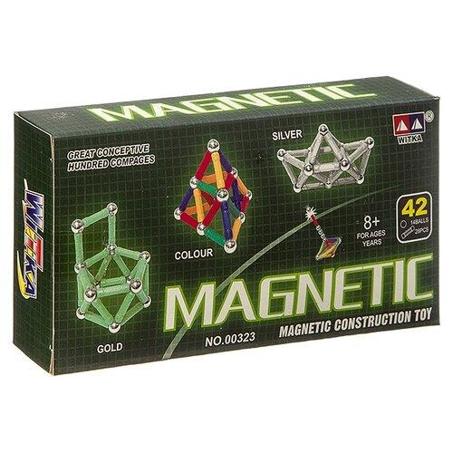 Конструктор Witka Magnetic 00323С серебро недорого