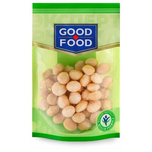 Макадамия GOOD FOOD очищенная, пластиковый пакет 130 г конфеты good food марципановое пралине пакет 200 г