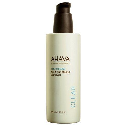 AHAVA средство тонизирующее очищающее Все в одном Time To Clear, 250 мл тонизирующее очищающее средство 2 в 1 weleda