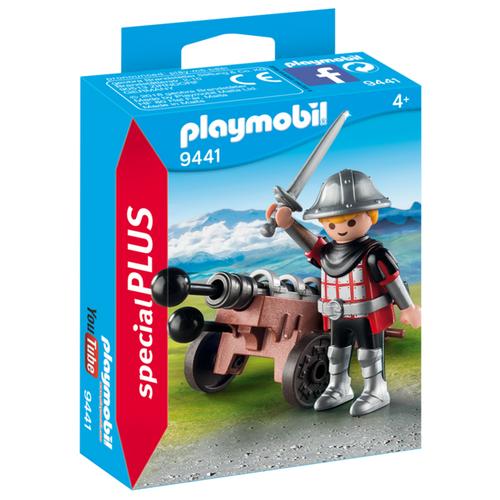 Купить Конструктор Playmobil Special Plus 9441 Рыцарь с пушкой, Конструкторы