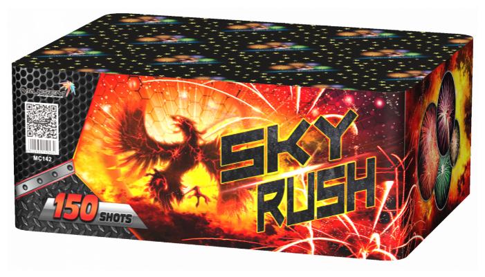 "Фейерверк SKY RUSH (1""x150) MC142"