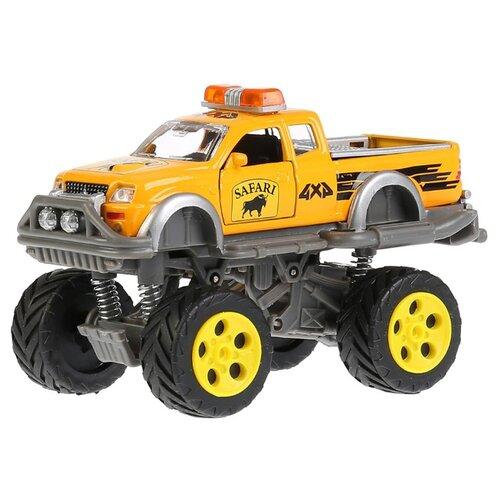 Купить Монстр-трак ТЕХНОПАРК CT10-041-2 14.5 см желтый, Машинки и техника