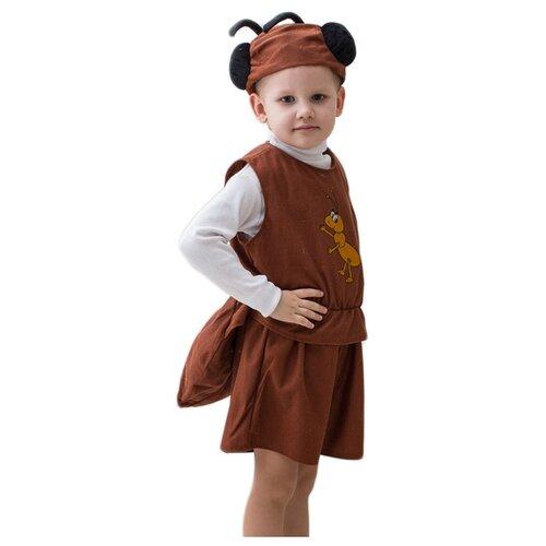 Купить Костюм Бока Муравей, коричневый, размер 122-134, Карнавальные костюмы