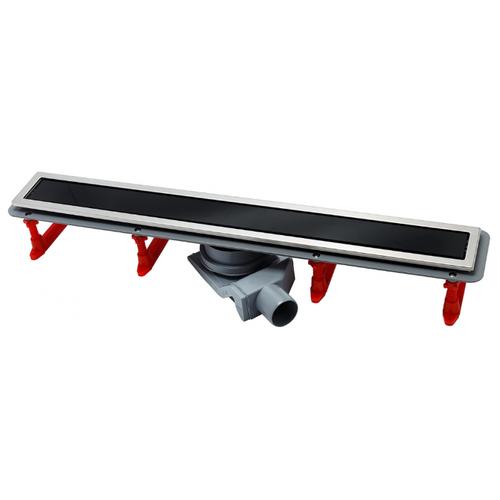 Лоток для душа PESTAN Confluo Premium Black Glass Line 850 13000295