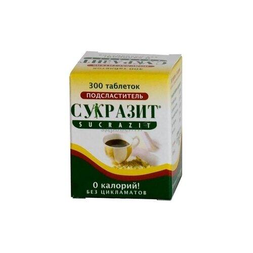 Сукразит Подсластитель таблетки 300 шт. huxol подсластитель таблетки 650 шт