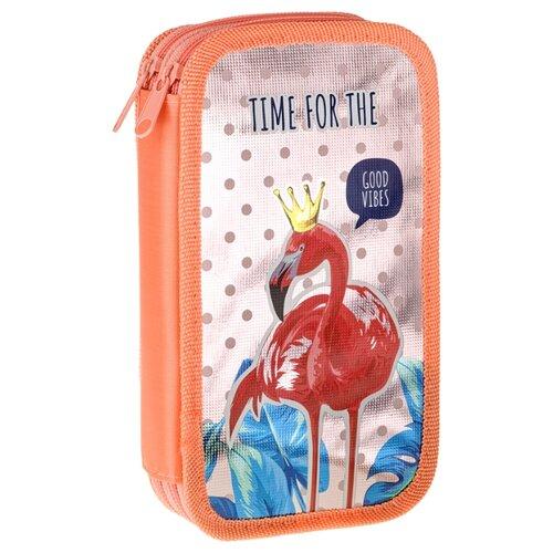 Купить ArtSpace Пенал Tropical vibes (ПК2_29099) оранжевый, Пеналы
