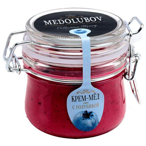 Крем-мед Medolubov с голубикой (бугель) 250 мл