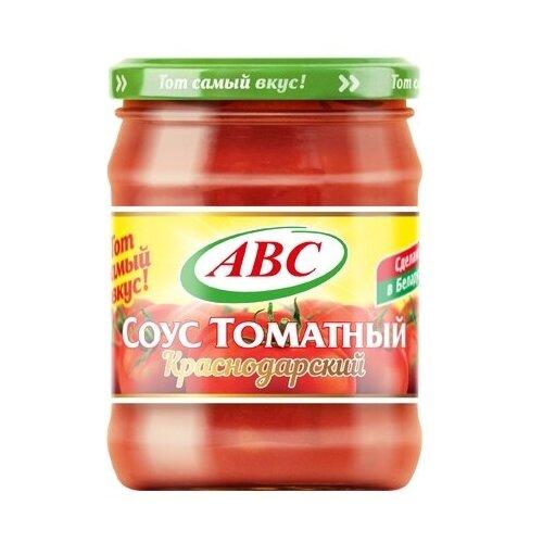Соус АВС томатный Краснодарский, 500 г unidan соус томатный с хреном 500 г