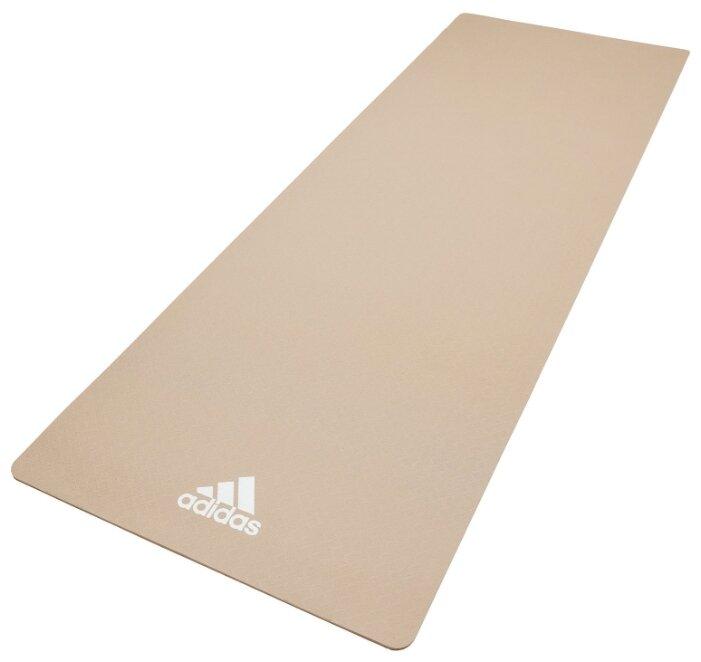 Коврик для йоги Adidas цвет Светло-серый ADYG-10100VG