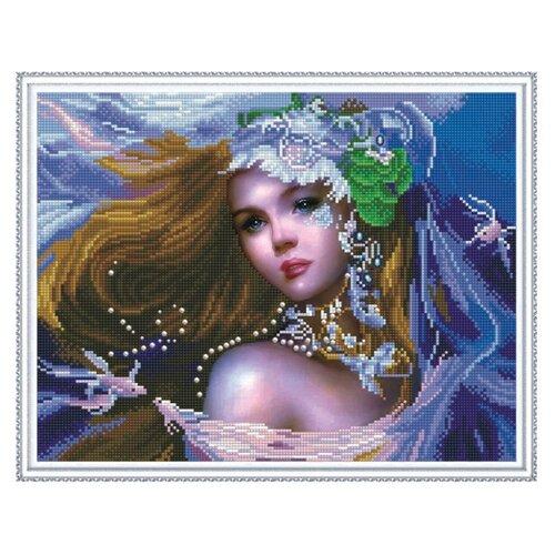 Купить Molly Набор алмазной вышивки Принцесса Фэнтэзи (KM0127) 50х40 см, Алмазная вышивка
